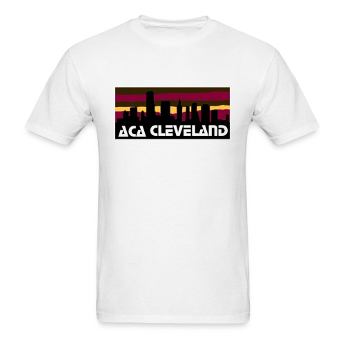 ACA Cleveland Skyline - Men's T-Shirt