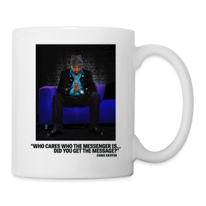 Eddie Griffin WHO CARES WHO THE MESSENGER IS Coffee Cup - Coffee/Tea Mug