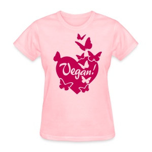 VEGAN Butterflies - Women's T-Shirt