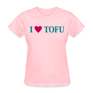 I LOVE TOFU - Women's T-Shirt
