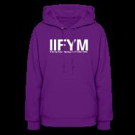 Hoodies ~ Women's Hoodie ~ Women's Hoodie - IIFYM - If it fits your macros, eat it!
