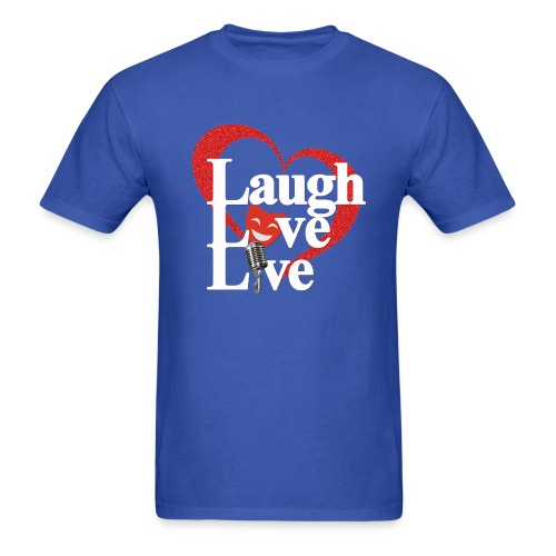 Laugh Love Live - Men's T-Shirt