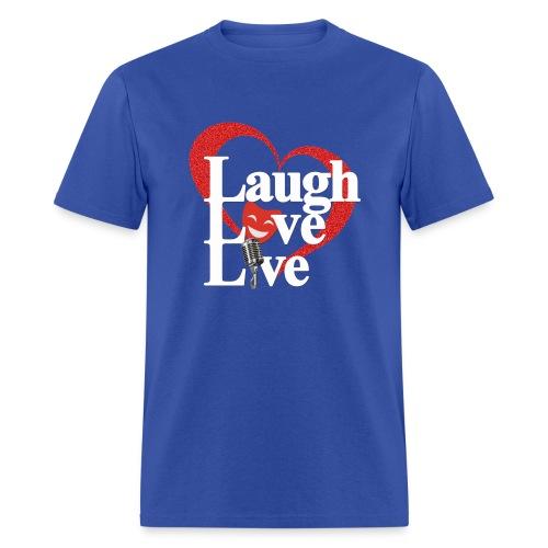 Laugh Love Live - Men's T-Shirt