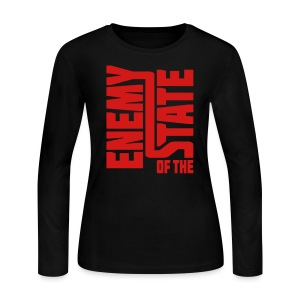 Enemy of the State - Women's Long Sleeve Jersey T-Shirt