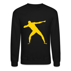 Usain Bolt Long Sleeve Shirts - Crewneck Sweatshirt