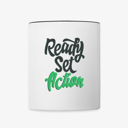 Ready. Set. Action! Coffee Mug - Contrast Coffee Mug