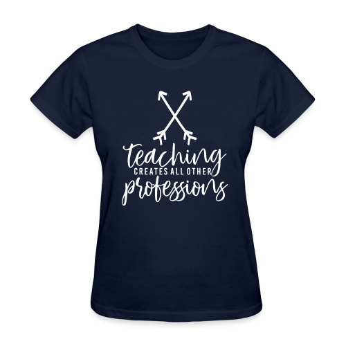 Teaching Creates All Other Professions - Women's T-Shirt