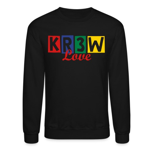KR3W LOVE  CREW NECK - Crewneck Sweatshirt