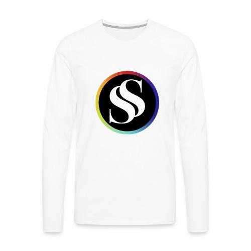 SF Long Sleeve White - Men's Premium Long Sleeve T-Shirt