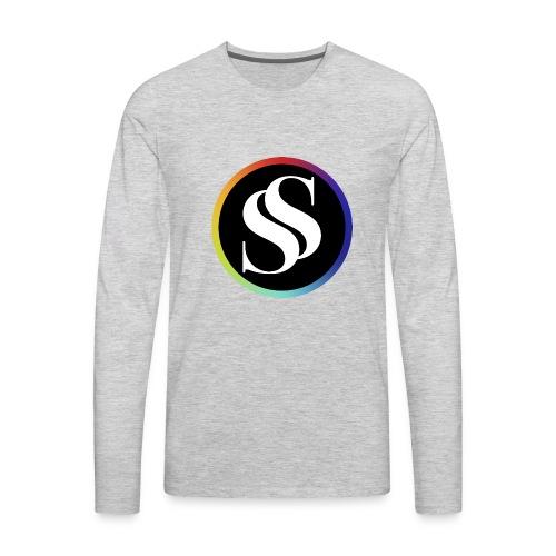 SF Long Sleeve Gray - Men's Premium Long Sleeve T-Shirt