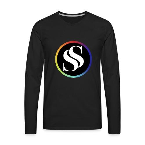 SF Long Sleeve Black - Men's Premium Long Sleeve T-Shirt