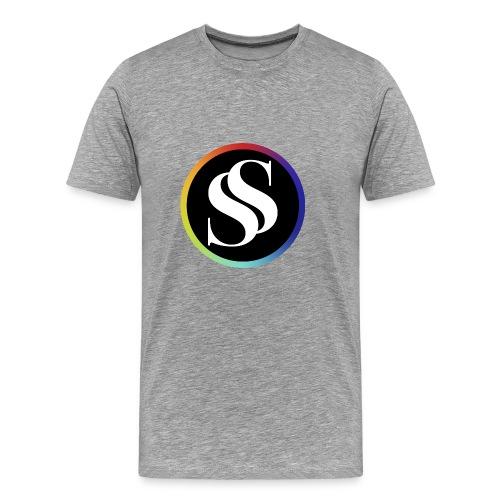 SF Short Sleve Gray - Men's Premium T-Shirt