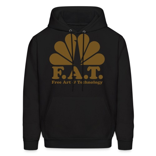 mens fat gold hoodie - Men's Hoodie
