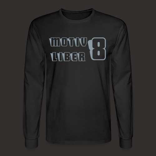 MOTIV8/LIBER8 Men's LS Shirt - Men's Long Sleeve T-Shirt