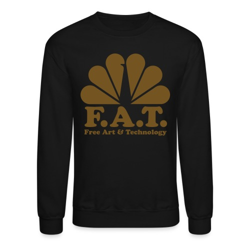 FAT Gold Crew Neck - Crewneck Sweatshirt