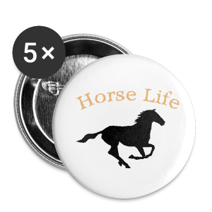 Horse life button - Small Buttons
