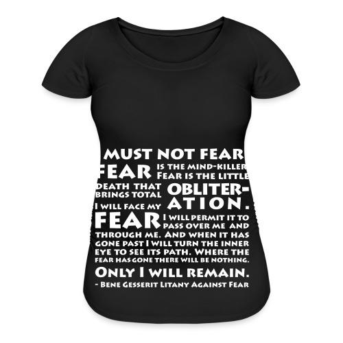 Litany Against Fear (Women) - Women's Maternity T-Shirt
