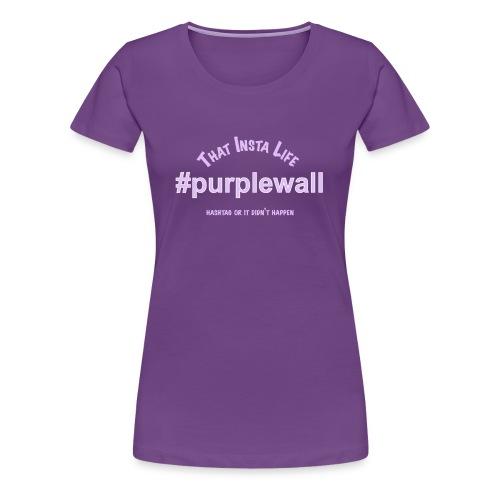 Purple Wall v2 - Women's Premium T-Shirt