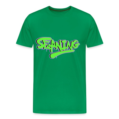 'Seaning' Graffiti Men's T-Shirt G/P - Men's Premium T-Shirt