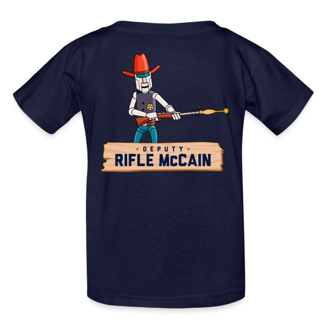 DEPUTIZED! Deputy Rifle T-shirt