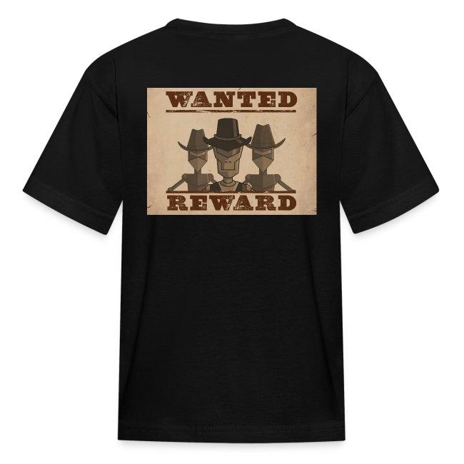 DEPUTIZED! Wanted Bandits T-shirt