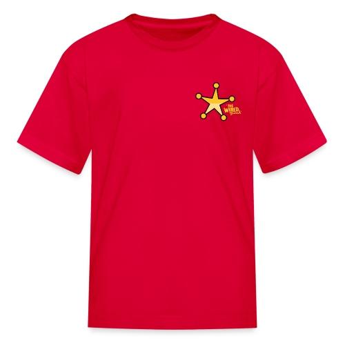DEPUTIZED! Deputy Ike T-shirt - Kids' T-Shirt