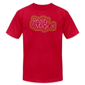 Reality is Magical - Men's T-Shirt by American Apparel