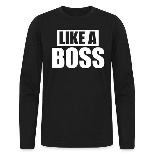 Boss - Men's Long Sleeve T-Shirt by Next Level