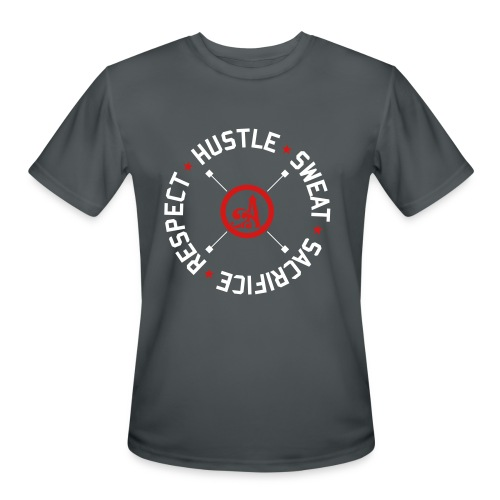 Hustle.Sweat.Sacrifice.Respect. Performance Tee - Men's Moisture Wicking Performance T-Shirt