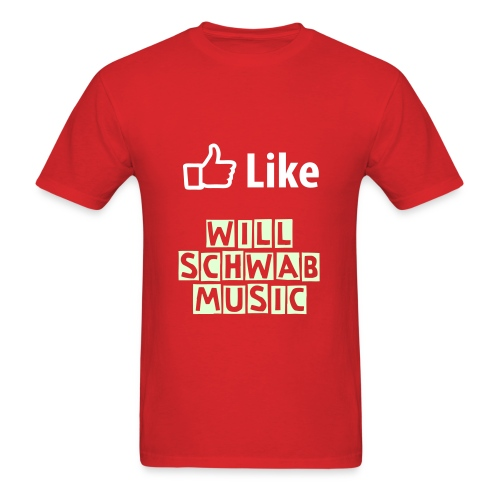 Like Will Schwab Music - Men's T-Shirt