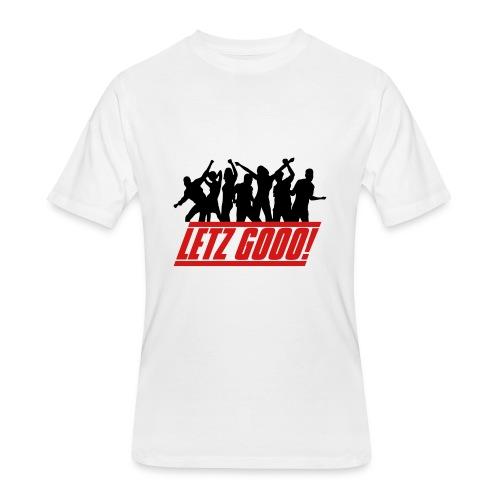 Let's Gooo (Men) - Men's 50/50 T-Shirt
