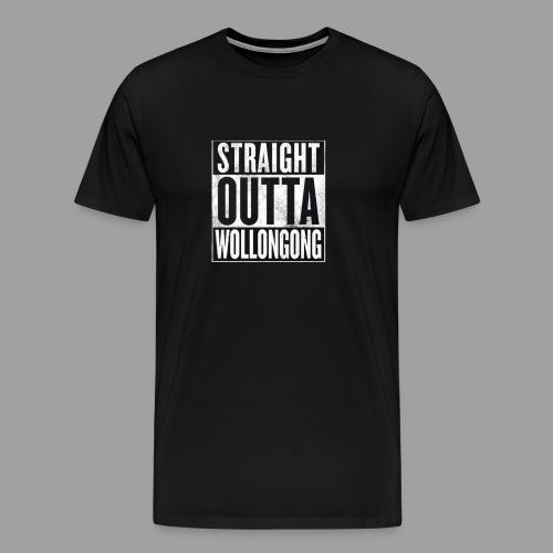 Mustang Mens Straight Outta Wollongong Shirt - Men's Premium T-Shirt