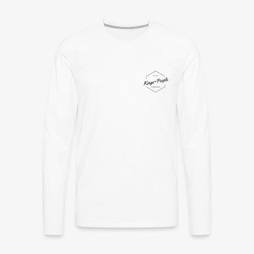 Kings people Shirt - Men's Premium Long Sleeve T-Shirt