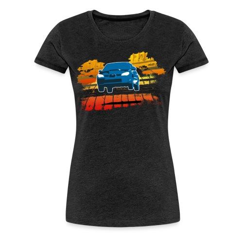 Women's Jump! Subaru STI Premium T-shirt - Women's Premium T-Shirt