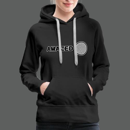 AmazeD Hoodie (women premium hoodie) - Women's Premium Hoodie