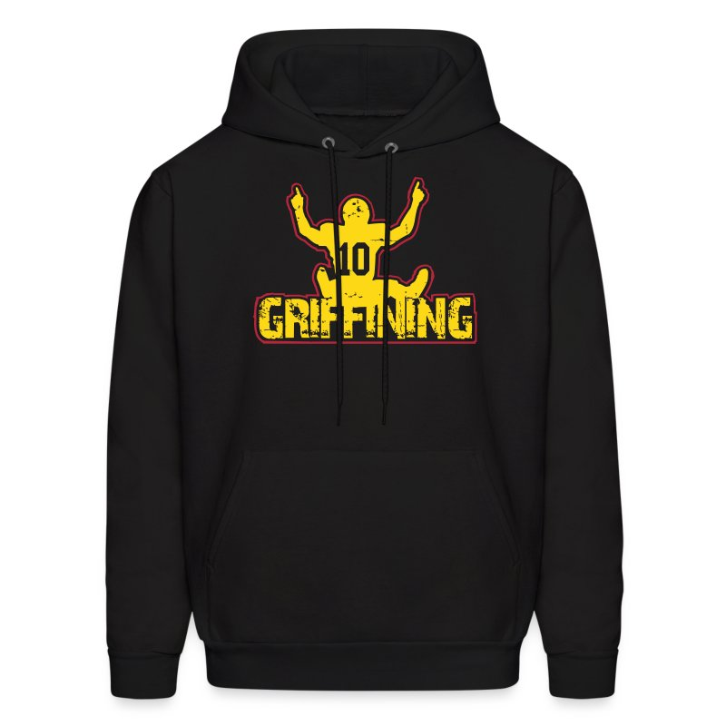 Women's Griffining Shirt on Black V-Neck - Men's Hoodie