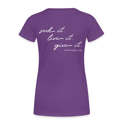 She Found Joy Crew Neck Tee - Women's Premium T-Shirt