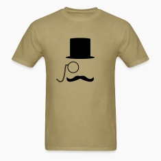 Like A Sir & Moustache T-Shirts