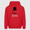Moustache and monocle Hoodies - Men's Hoodie