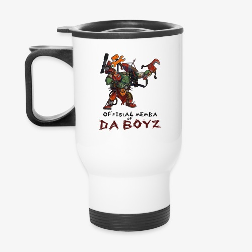 'Memba of Da Boyz' Travel Mug - Travel Mug