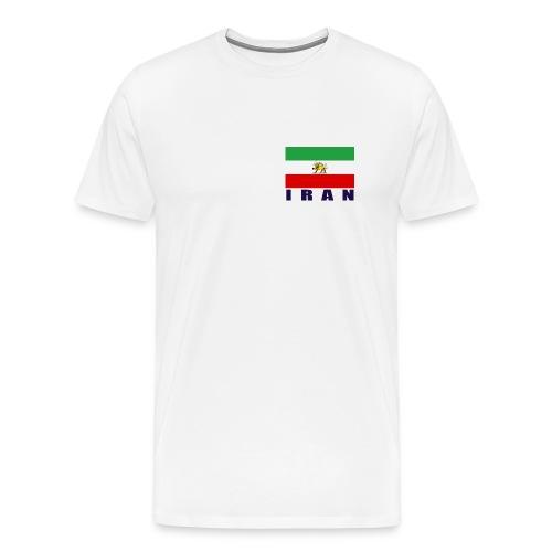 Flag of Iran - Men's Premium T-Shirt