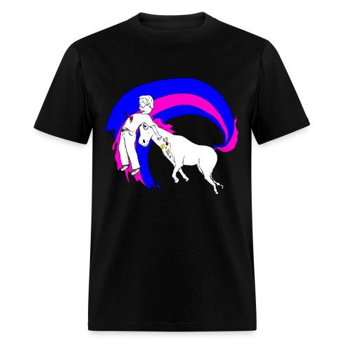 Unicorn Rage - Mens T - Men's T-Shirt