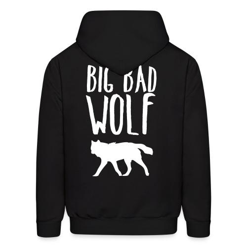 Big Bad Wolf (BACK) - Men's Hoodie
