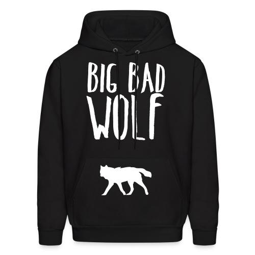 Big Bad Wolf (FRONT) - Men's Hoodie