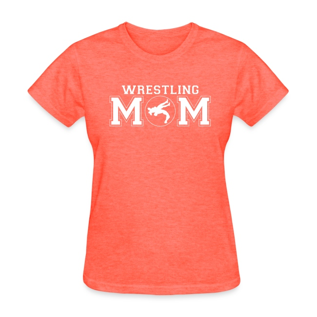277742d04 SportzTeez Shirts and Apparel | Wrestling Mom wrestler shirt ...