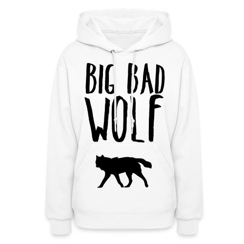 Big Bad Wolf (FRONT)  - Women's Hoodie