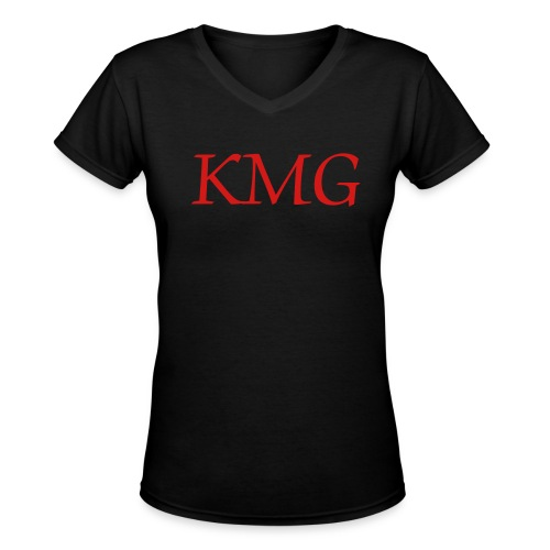 KMG Gear - Women's V-Neck T-Shirt