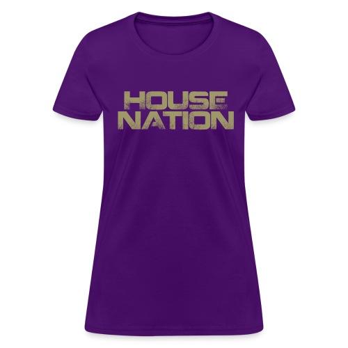 House Nation - Women's (Purple) - Women's T-Shirt