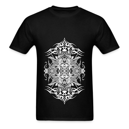 Eternal Voyage 4 - B&W Men's T-Shirt - Men's T-Shirt