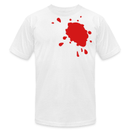 T-Shirts ~ Men's T-Shirt by American Apparel ~ Blood Stain Tee
